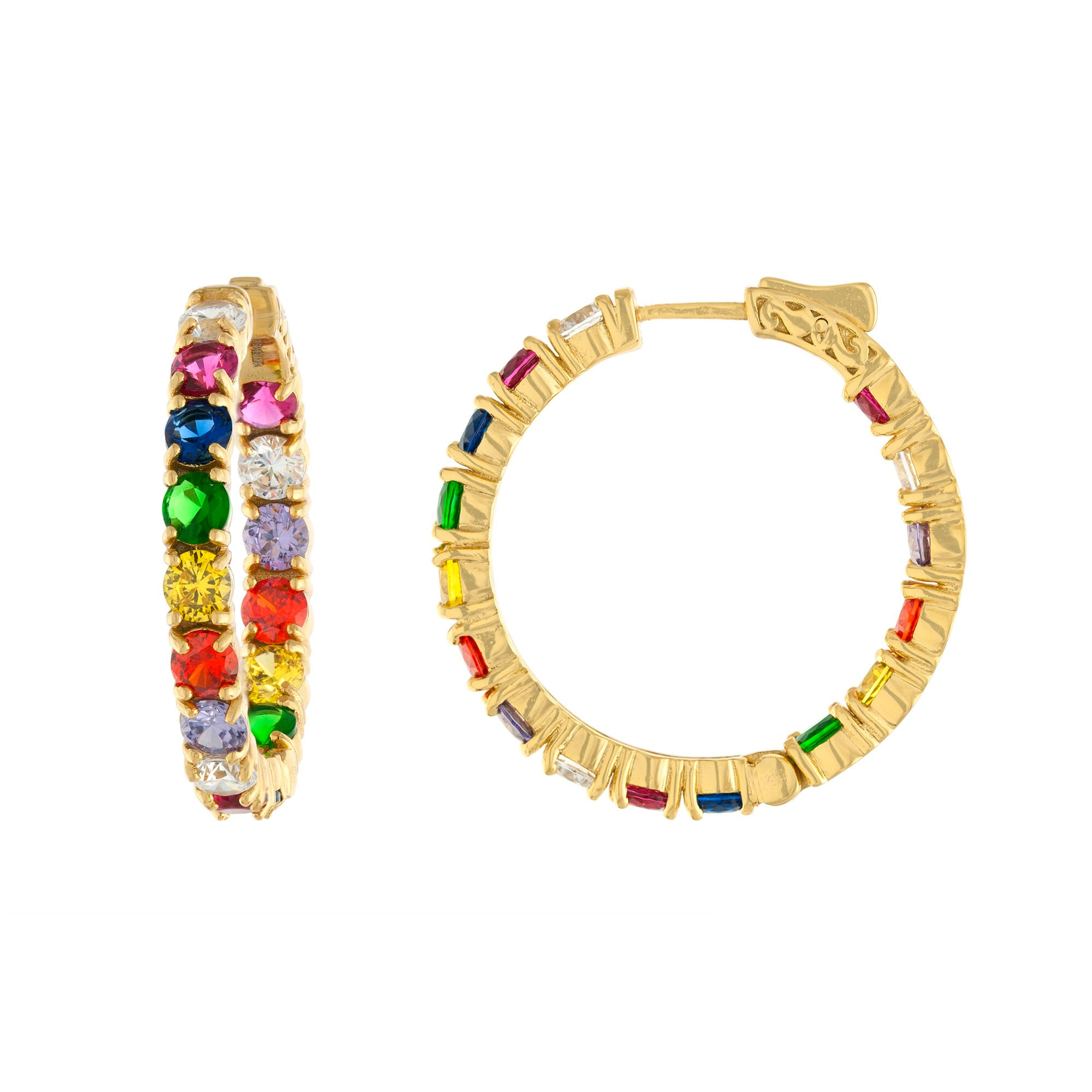 Dua Rainbow Hoops