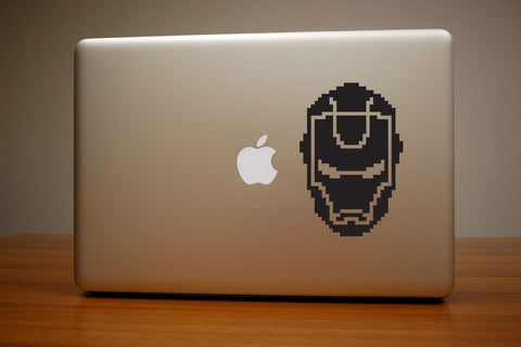 Iron Man 8-Bit Decal