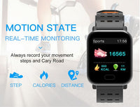 Smartwatch met Hartslagmeter (Sport Watch!)