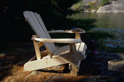 Bear Chair Reclining Pine Chair Kit