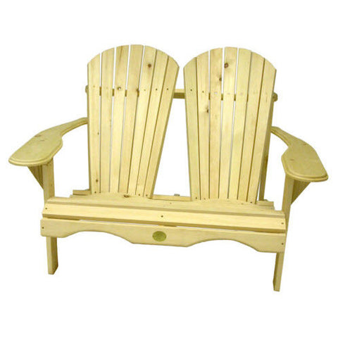Bear Chair Pine Loveseat Kit