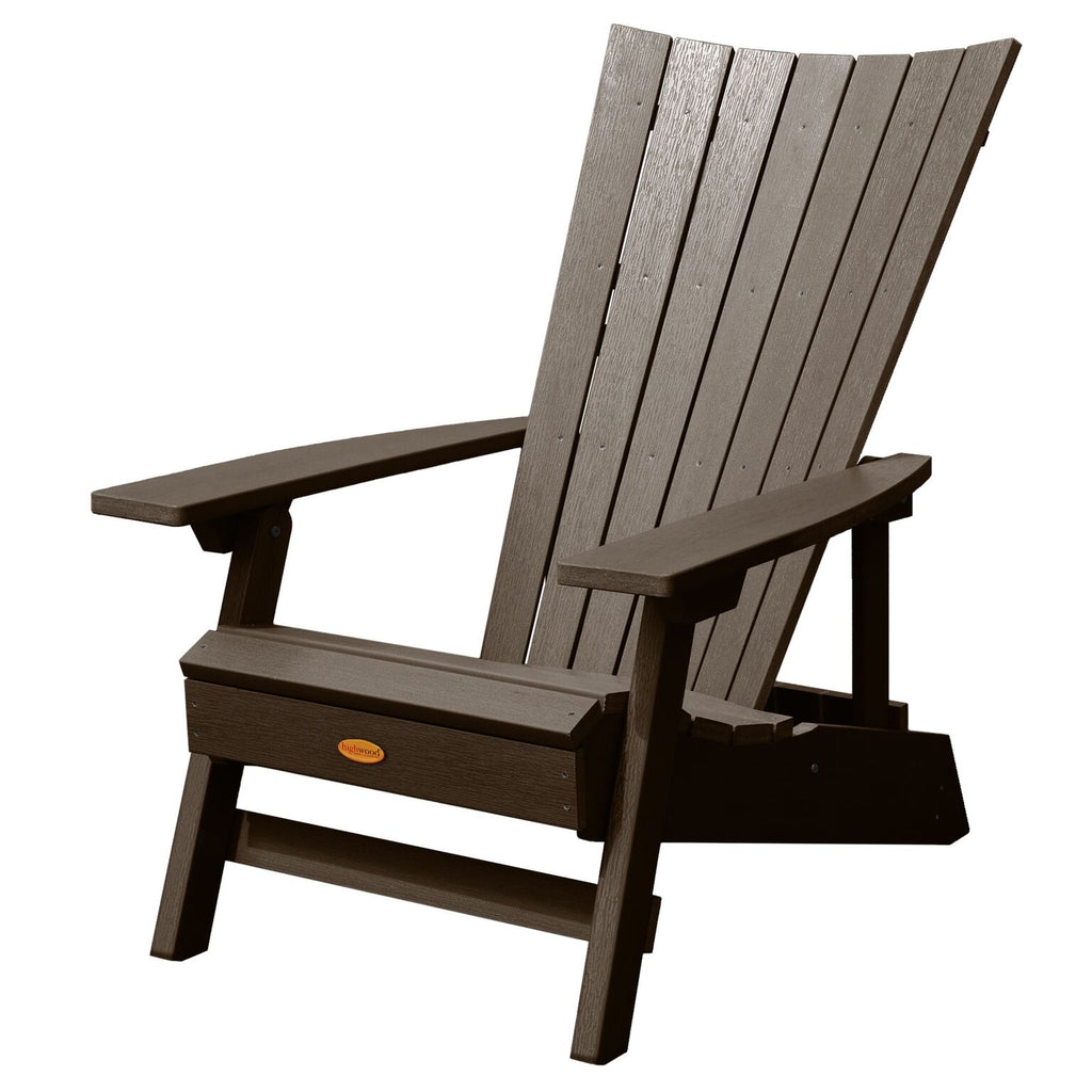 Highwood® Manhattan Beach Adirondack Chair - Weathered Acorn