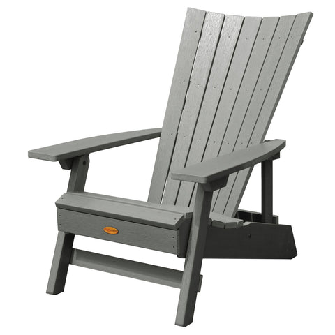 Highwood® Manhattan Beach Adirondack Chair - Coastal Teak
