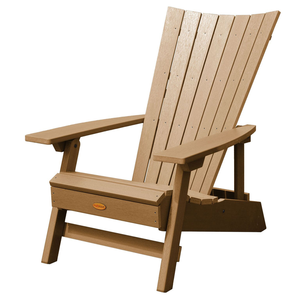 Highwood® Manhattan Beach Adirondack Chair - Toffee