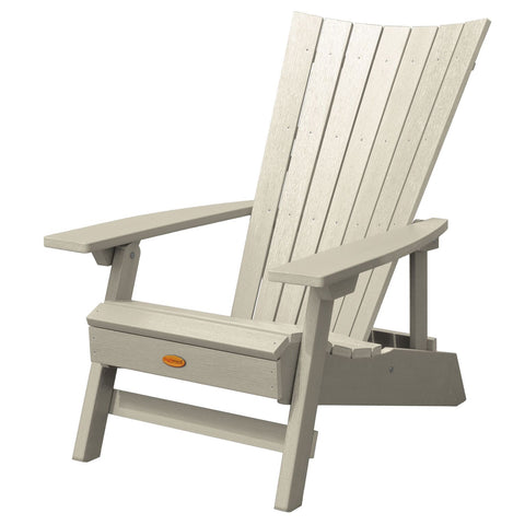 Highwood® Manhattan Beach Adirondack Chair - White Wash
