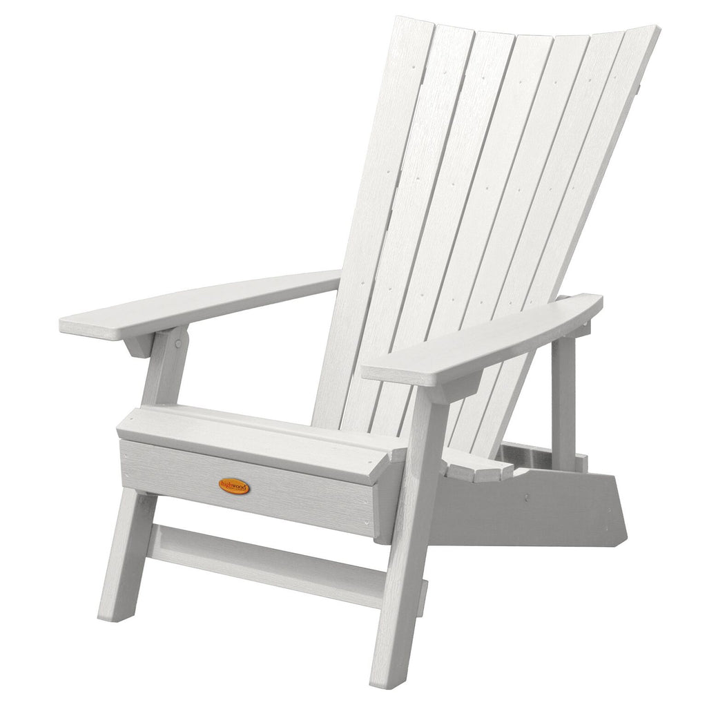 Highwood® Manhattan Beach Adirondack Chair - White