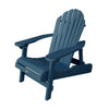 Highwood® Hamilton Folding & Reclining Adirondack Chair - Nantucket Blue