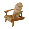 Highwood® Hamilton Folding & Reclining Adirondack Chair - Toffee