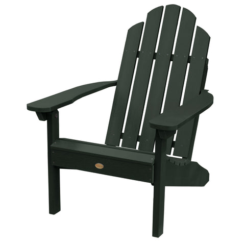 highwood classic westport adirondack chair charleston green - Polywood Adirondack Chairs