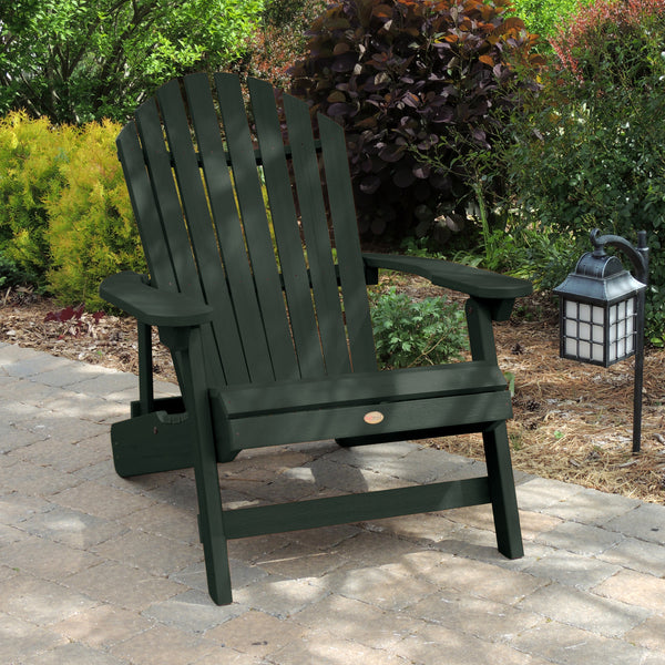 Highwood 174 King Hamilton Folding Amp Reclining Adirondack