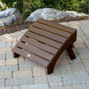 Highwood® Folding Adirondack Ottoman - Weathered Acorn