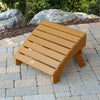 Highwood® Folding Adirondack Ottoman - Toffee
