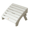 Highwood® Folding Adirondack Ottoman - White Wash