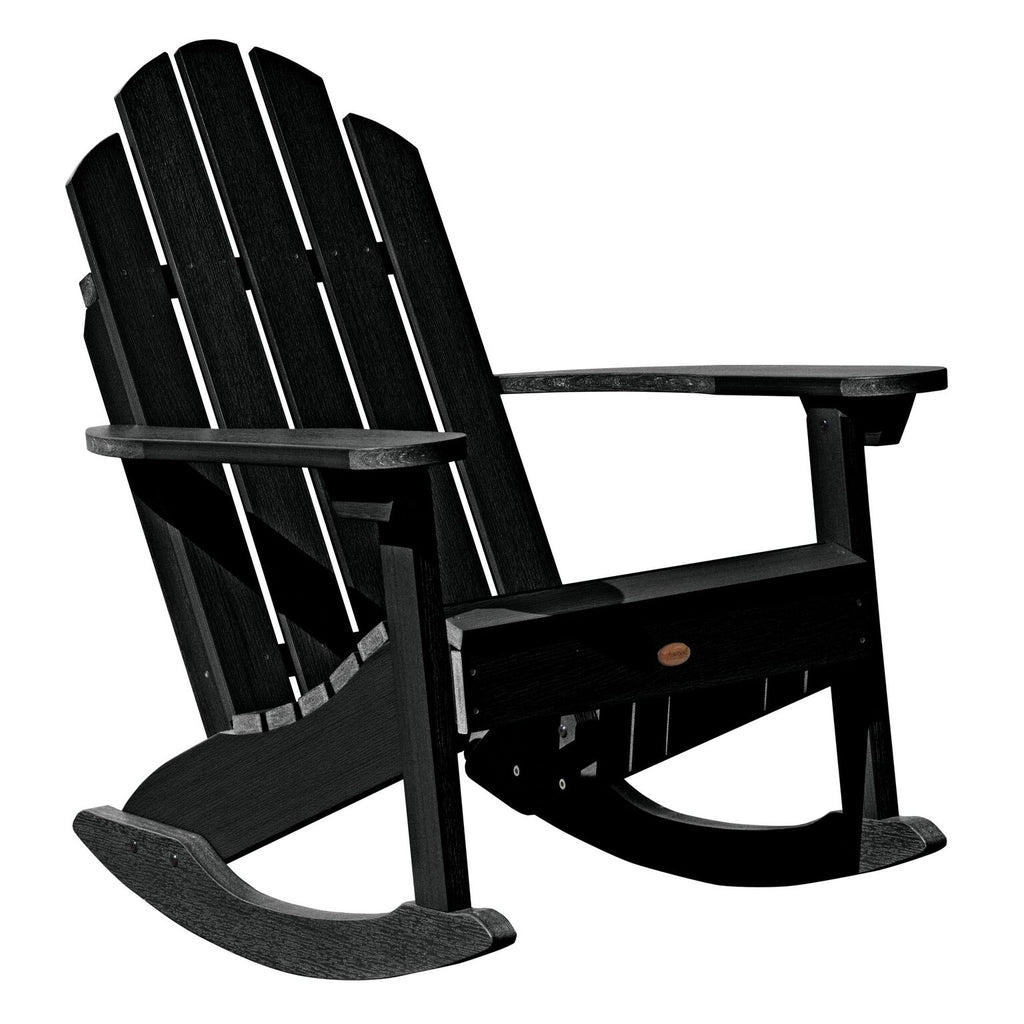 Highwood® Classic Westport Adirondack Rocking Chair - Black