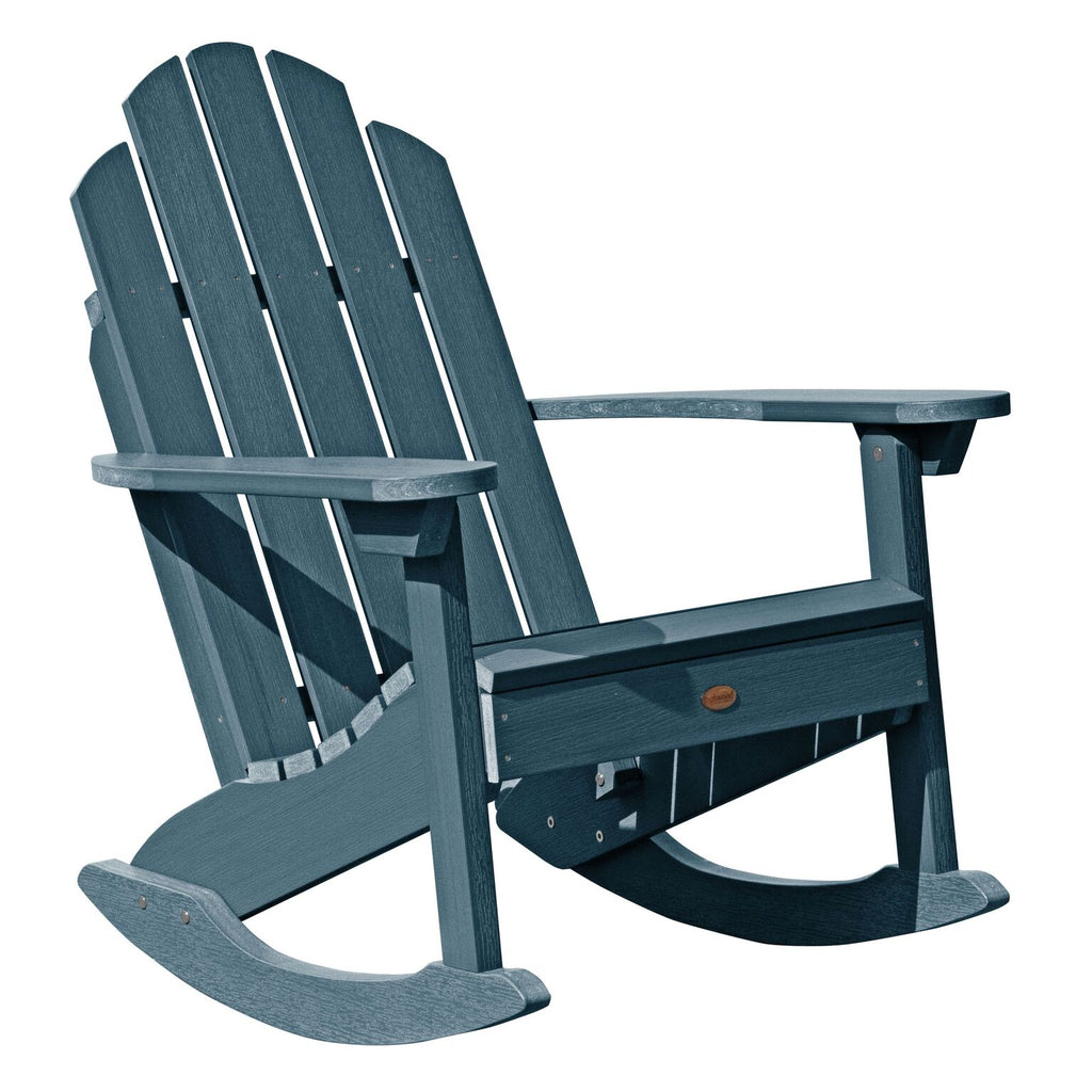 Highwood® Classic Westport Adirondack Rocking Chair - Nantucket Blue