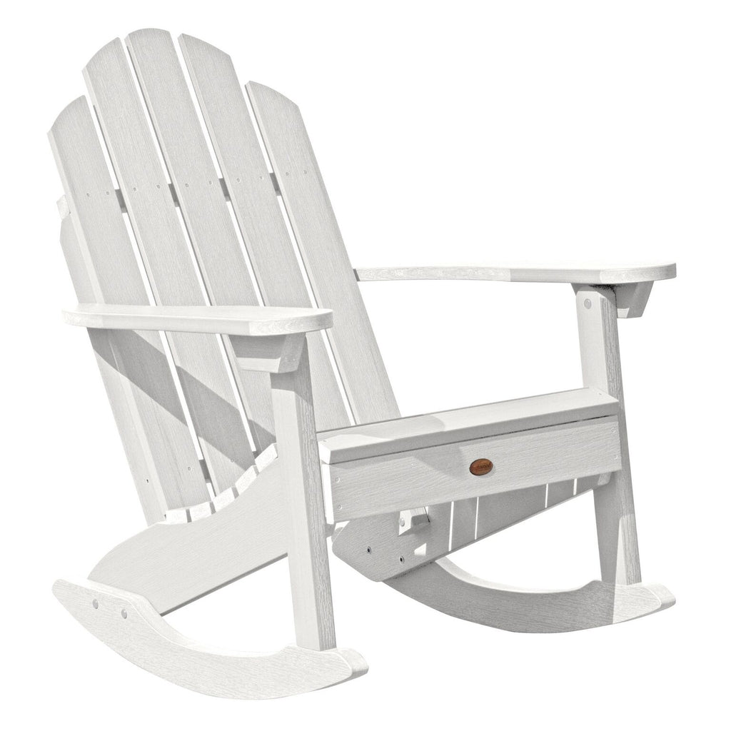 Highwood® Classic Westport Adirondack Rocking Chair - White