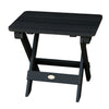 Highwood® Folding Adirondack Side Table - Black