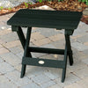 Highwood® Folding Adirondack Side Table - Charleston Green