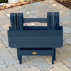 Highwood® Folding Adirondack Side Table - Nantucket Blue