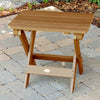 Highwood® Folding Adirondack Side Table - Toffee