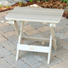 Highwood® Folding Adirondack Side Table - White Wash