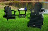 Highwood® Folding Adirondack Ottoman - Black