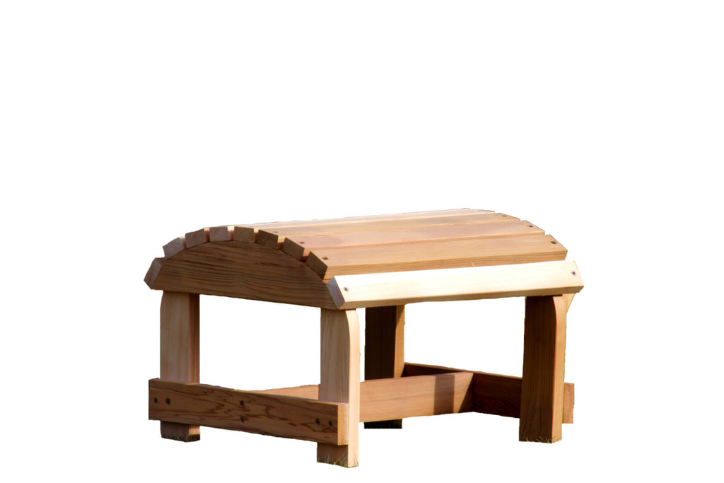 Bear Chair Cedar Ottoman Kit