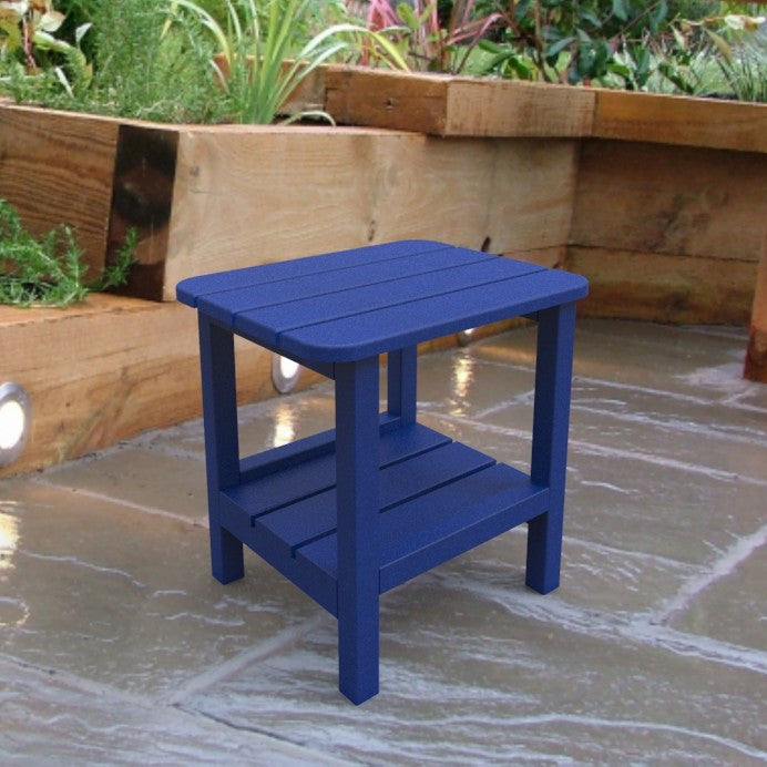 Malibu Outdoor Living End Table - Blue