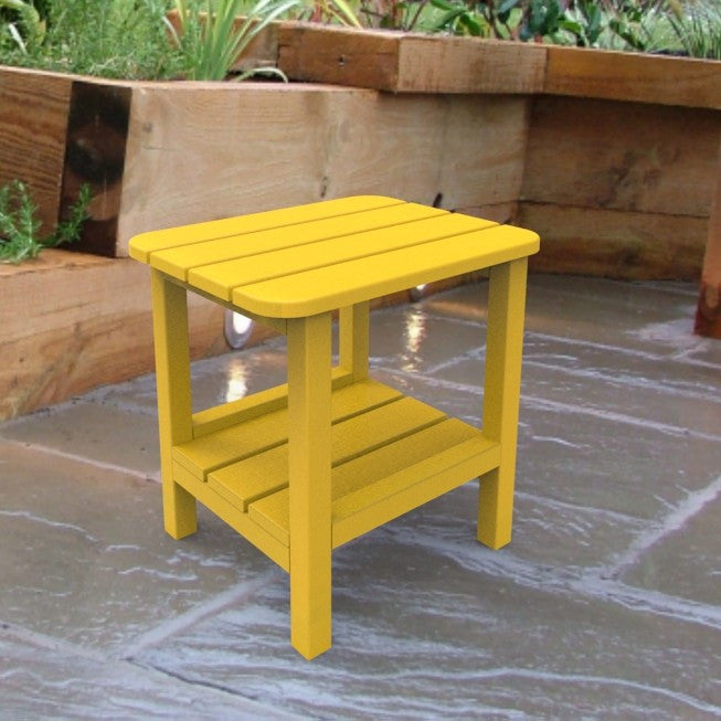 Malibu Outdoor Living End Table - Yellow