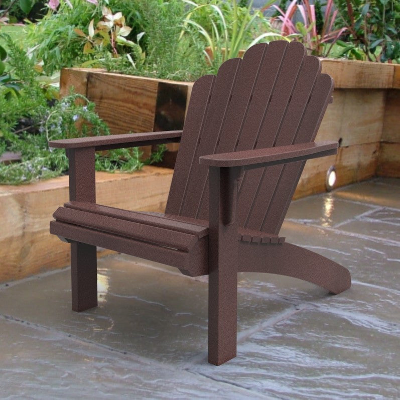 Malibu Outdoor Living Hampton Adirondack Chair - Cherry