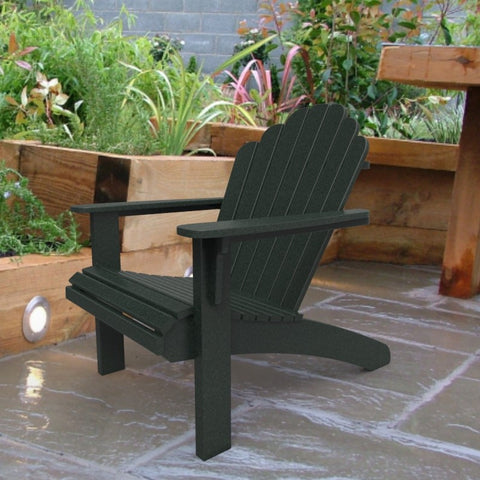 Malibu Outdoor Living Hampton Adirondack Chair - Turf Green