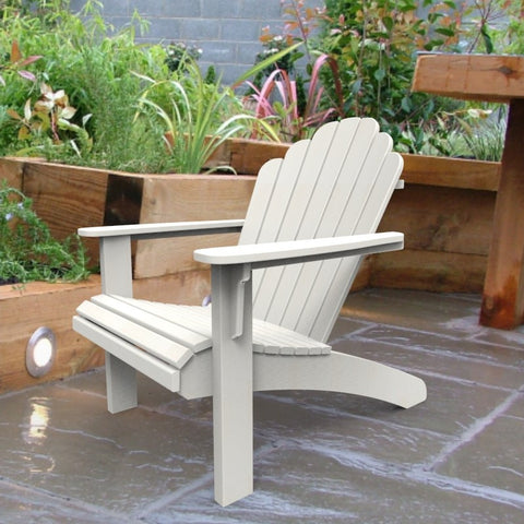Malibu Outdoor Living Hampton Adirondack Chair - White