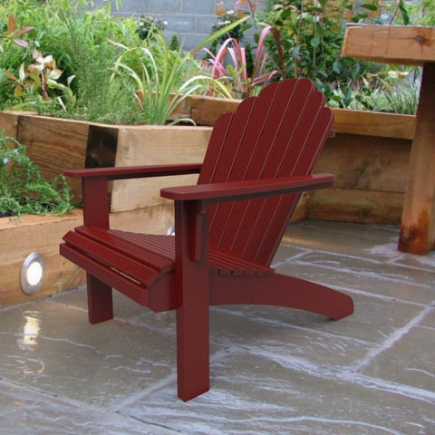 Malibu Outdoor Living Hampton Adirondack Chair - Red