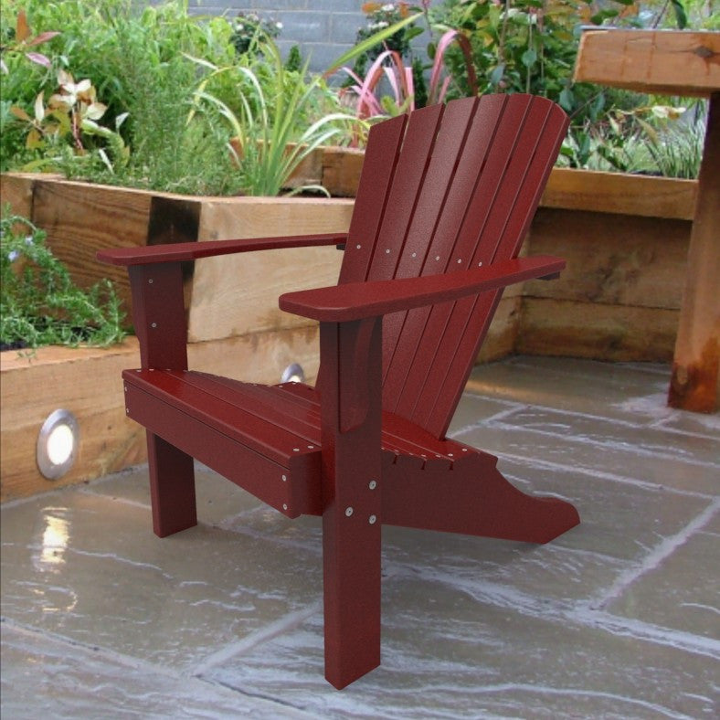 Malibu Outdoor Living Hyannis Adirondack Chair - Red