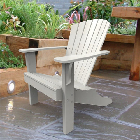 Malibu Outdoor Living Hyannis Adirondack Chair - White