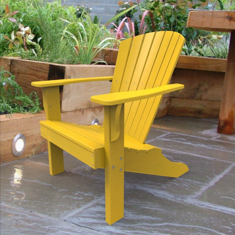 Malibu Outdoor Living Hyannis Adirondack Chair - Yellow