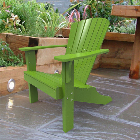 Malibu Outdoor Living Hyannis Adirondack Chair - Lime