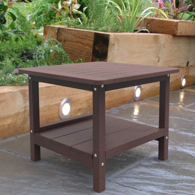 Malibu Outdoor Living Square End Table - Cherry