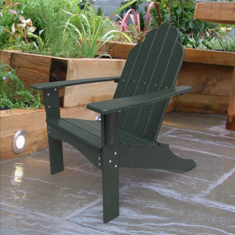 Malibu Outdoor Living Yarmouth Adirondack Chair - Turf Green