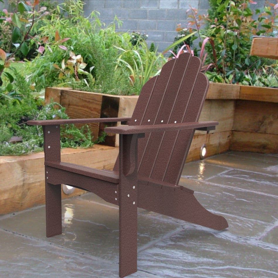 Malibu Outdoor Living Yarmouth Adirondack Chair - Cherry