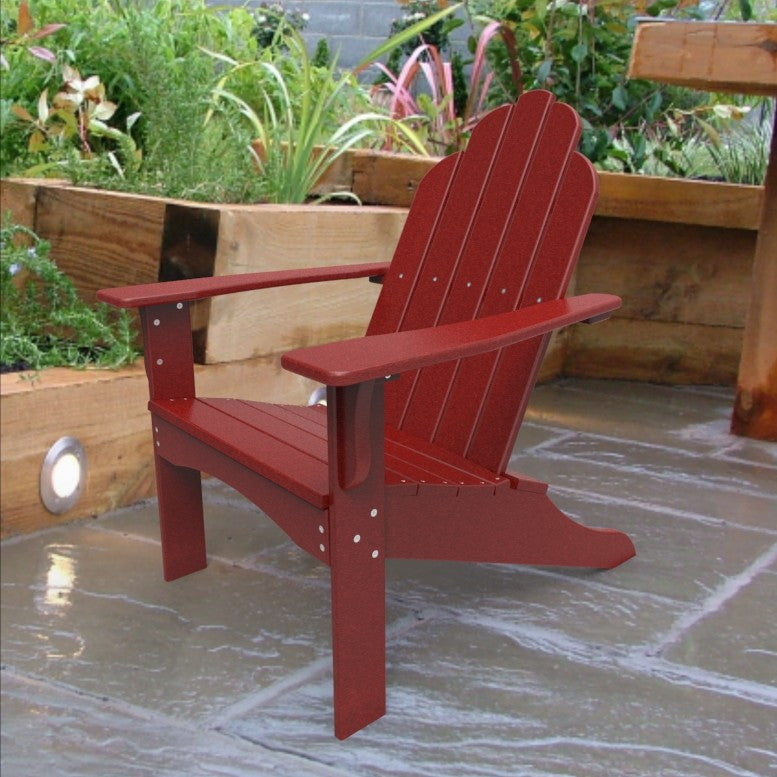 Malibu Outdoor Living Yarmouth Adirondack Chair - Red