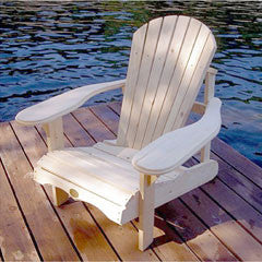 Bear Chair Kid's Muskoka Pine Chair Kit