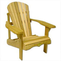 Bear Chair Muskoka Pine Chair Kit