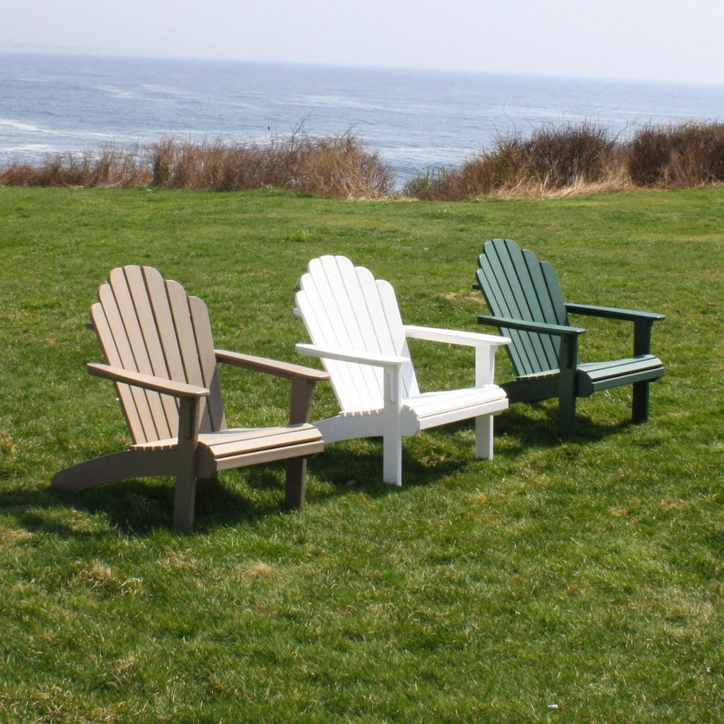 Malibu Outdoor Living Hampton Adirondack Chair   White