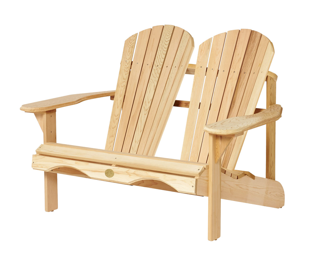Bear Chair Cedar Loveseat Kit