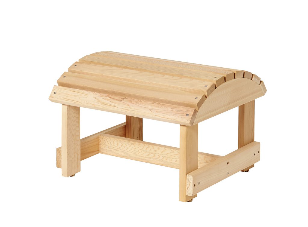 Bear Chair Pine Ottoman Kit