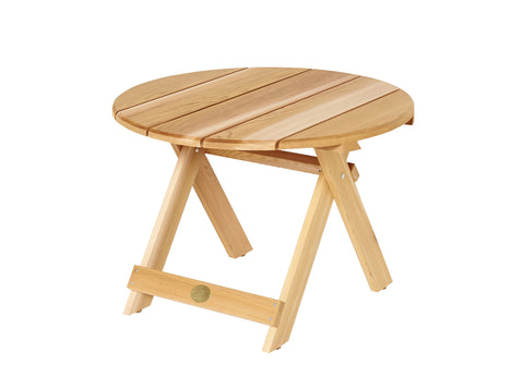 Bear Chair Cedar 28 Inch Folding Side Table
