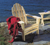 Rustic Natural Cedar Adirondack Chair - Natural