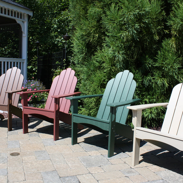 Malibu Outdoor Living Yarmouth Adirondack Chair Cherry