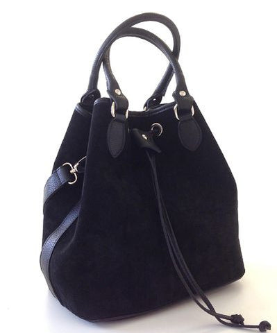 Beckenham Bucket Bag (Black)